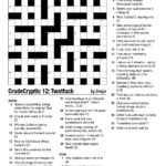 Printable Cryptic Crosswords Printable Template 2021