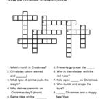 Printable Elementary Crossword Puzzles Printable