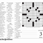 Printable Ny Times Sunday Crossword Puzzles Printable
