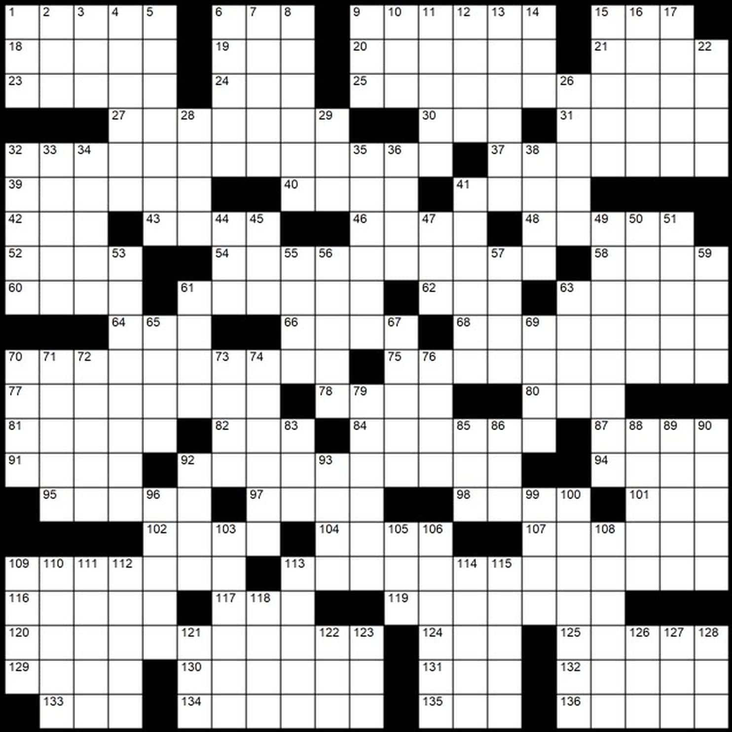 Evan Birnholz Sunday Crossword Printable
