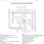 Russian Revolution Crossword Wordmint Printable