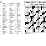 Star Tribune Crossword Puzzle Printable Printable
