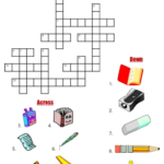 Teachers Can Use Crossword Puzzle Worksheets To Amplify