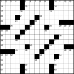 Washington Post Crossword Printable Printable Template 2021
